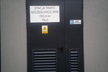 drzwi do stacji transformatorowych