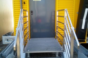 drzwi stalowe zewnętrzne ppoż.